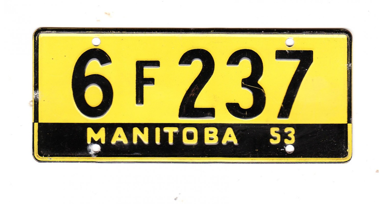 1953 MANITOBA MINI MINIATURE CEREAL